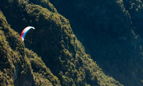 Go paragliding on the island of El Hierro